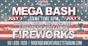 4th of July 2019 at Roger Dean Stadium in Jupiter, Florida.