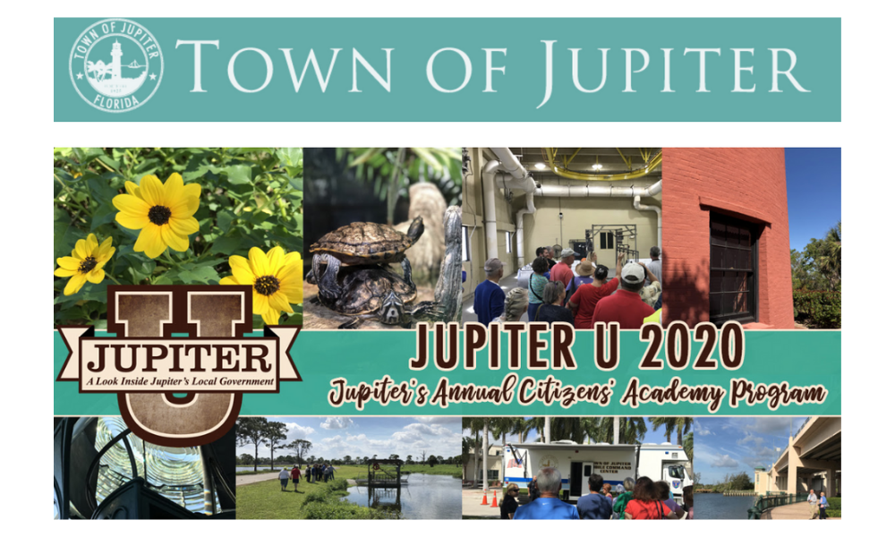 Jupiter U: Jupiter's Annual Citizens' Academy Program